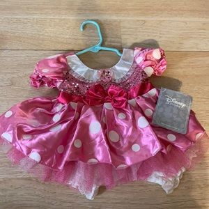 Disney Store Minnie Mouse Pink Infant Dress
